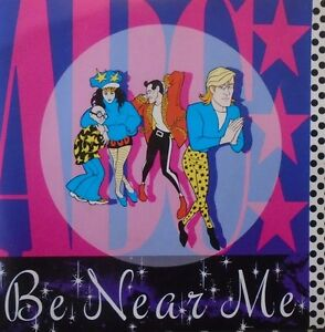 "ABC - Be Near Me ~ 7"" Single PS"