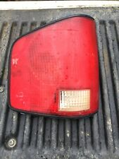 1994-2004 Chevy S10 GMC S15 Sonoma Tail Lights Brake Lamp Driver Side