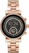 Michael Kors Access Slim Sofie Rose Gold Smart Touchscreen Watch MKT5063