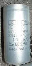 4 x Rifa PEH153 22000uf 10v electrolytic capacitor PEH153EF522