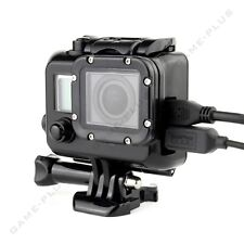 For GoPro Hero 3 3+ 4 Side Opening Skeleton Housing Blackout Protective Case FPV