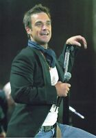 ROBBIE WILLIAMS PHOTO HUGE 12 INCH UNRELEASED EXCLUSIVE IMAGE 2005 UNIQUE  A GEM