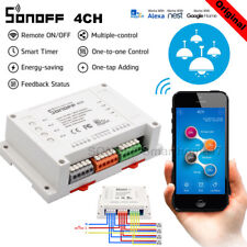 Sonoff 4CH Channel Remote Ctrl Smart WiFI Switch Home Automation Wireless Timer