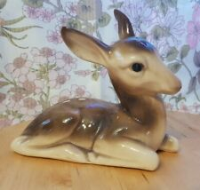More details for vintage midwinter large fawn deer 70s kitch cute