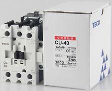 1PC TECO AC contactor CU-40 AC220V