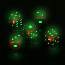 Aluminum Alloy Dice Portable Dices with Metal Box 6 Sided Dice Poker Party Toys