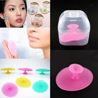 Magic Silicone Blackhead Remover Facial Face Brush Cleansing Pad Skin Care w/
