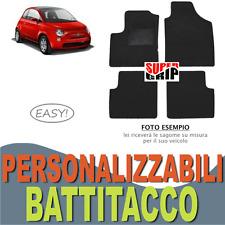 PER FIAT 500 (07-15) TAPPETINI AUTO SU MISURA IN MOQUETTE CON BATTITACCO | EASY