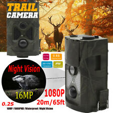 16.0MP Hunting Camera Trail Scouting Wildlife Cam Night Vision IR Cut Infrared