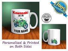 Kawasaki ZX-7R Motorbike Personalised Ceramic Mug Gift (MB092)