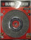 BLACK & DECKER 70-613 6 in. Coarse Wire Wheel 5/8