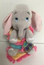 Disney Babies Baby DUMBO Elephant Plush Blanket Theme Parks Stuffed Animal Set
