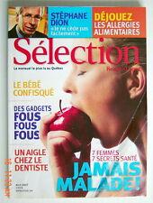 SÉLECTION DU READER'S DIGEST DE AVRIL 2007, EN COUVERTURE JAMAIS MALADE 7SECRETS