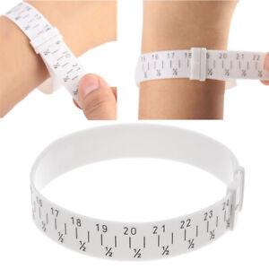 Wrist Bangle Bracelet Sizer Gauge Measures Size 15-25cm Metal Jewelry Tool