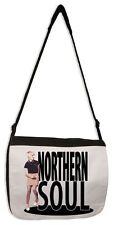 Northern Soul Girl Laptop Messenger Bag - Mod Mods Motown Wigan Casino