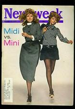 1970 Newsweek: Midi Vs Mini Skirts