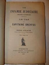 Antisemitismo Ebrei, Strauss: Caso del Capitano Cas Capitain Dreyfus 1897