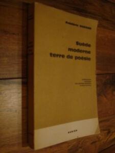 Suède moderne Terre de Poésie Anthologie bilingue Poètes suédois d'aujourd'hui