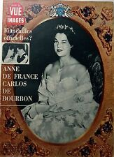 Point de Vue 1964: ANNE DE FRANCE_CARLOS DE BOURBON_Benedikte DE DANEMARK