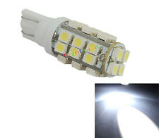 T10 28 LED SMD 1210 Pure White 168 501 W5W Side Car Wedge ampoule lampe 12V