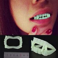 10 * vampire de fête de vacances Halloween rougeoyant faux vêtements de dents