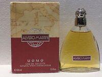 ALVIERO MARTINI UOMO EDT 100ML - 3.3FL.OZ VINTAGE RARE OLD FORMULA