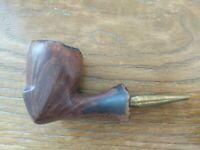 """Vintage Handmade in Denmark """"Kristi"""" Smoking Tobacco Pipe"""