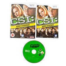 CSI: delle prove schiaccianti per Nintendo Wii/Wii U. COMPLETO. PAL.