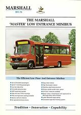 Specification Sheet ~ Marshall - Master Minibus: Mercedes Vario: Uxbridge Buses