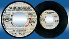 Philippines FRANK SINATRA I've Got A Crush On You 45rpm Record
