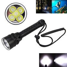 imperméable 100m 20000lm XM-L T6 5 LED Plongée Lampe torche lampe brillantes