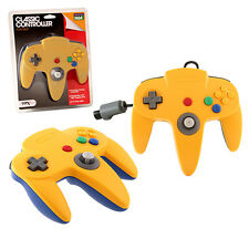 New Yellow & Blue N64 Gamepad Controller (Nintendo 64)