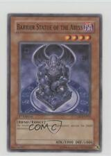 2006 Yu-Gi-Oh! Cyberdark Impact #CDIP-EN018 Barrier Statue of the Abyss Card 3c7