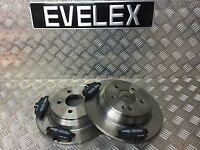 Mercedes Vito 109-126 W639 Model Rear Brake Discs and Pads 296 mm Solid 5 Stud