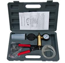 21Pcs Hand Held Vacuum Pressure Pump Tester Fluid Brake Bleeder Automotive Tool