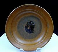 "JACOMENA MAYBECK SIGNED STUDIO ART POTTERY EARTHTONE STONEWARE 8"" BOWL 1952 - 78"