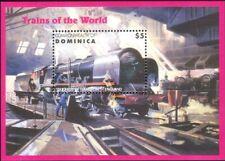 Dominica 1996 Trains/Steam Engine/Railways/Locomotives/Transport 1v m/s (s1912z)
