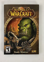 World of Warcraft Game Manual PC Blizzard Entertainment