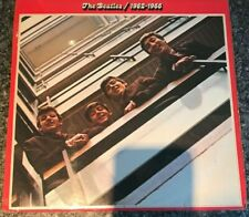 The Beatles  1962-66 Red Album UK 1st Press Apple PCSP 717 Rare Double LP VG/EX