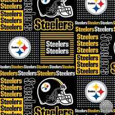 Pittsburgh Steelers NFL Cotton Fabric 6430 D
