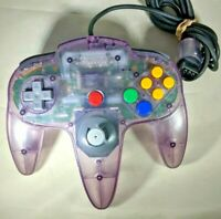 Official Nintendo 64 N64 Atomic Purple Controller Authentic TESTED FREE SHIPPING
