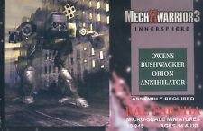 MechWarrior 3 innersphere-Box con Mech di Ral Partha BattleTech ()