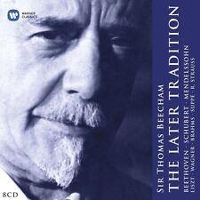 THOMAS BEECHAM - BEECHAM:THE LATER TRADITION 8 CD KLASSIK NEU SCHUBERT/BRAHMS/+