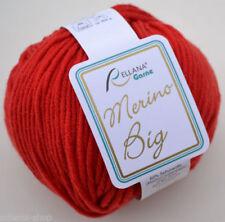 Filati rossi per hobby creativi uncinetto