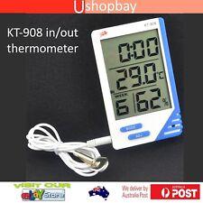Digital Thermometer & Hygrometer indoor & outdoor function Humidity Meter KT908