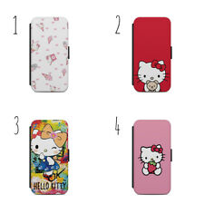 HELLO KITTY CARTOON PATTERN CUTE GIFT WALLET Phone Case for SAMSUNG