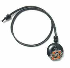 OKLAHOMA STATE COWBOYS PENDANT ONYX CORD NECKLACE 24339 college sports jewelry