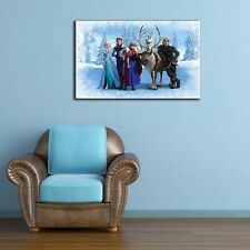 50×80×3cm Disney Frozen Stretched Canvas Print Framed Kids Wall Art Home Decor