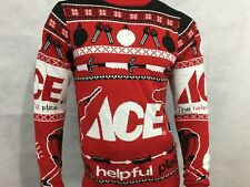 Ace Hardware Holiday Sweater Size S Red White Ugly Sweater Tools Unisex Keys