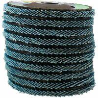 "40 Grit Zirconium Flap Discs for Sanding Grinding Removal 4-1/2"" Grinder 10pc"